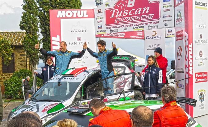 TER – Bertelli-Scattolin si aggiudicano il Rally Tuscan Rewind