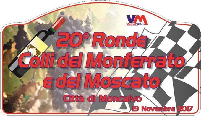 Ronde Colli del Monferrato e Moscato – 13 equipaggi al via della 20^ edizione