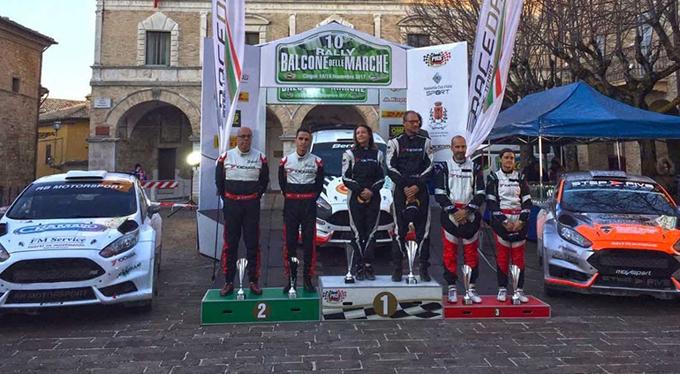 Rally Balcone delle Marche – Ricci e Pfister svettano nella prova di Cingoli