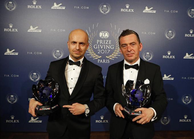 FIA ERC – Kajetanowicz e Baran premiati al FIA Prize Giving