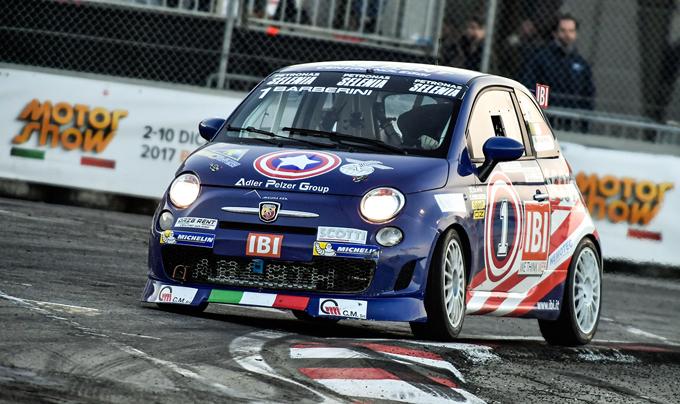 Motor Show di Bologna – Trofeo Abarth Selenia: vince Barberini