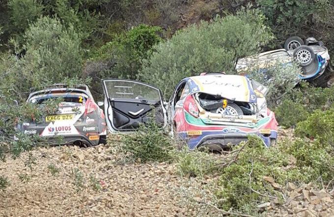 FIA ERC – L'incidente multiplo di Cipro votato come miglior episodio del 2017