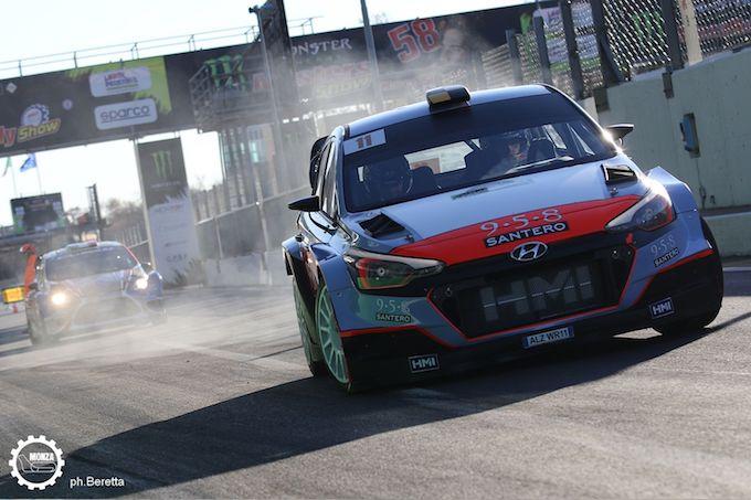 Monza Rally Show 2017 | Mikkelsen-Neuville al comando al termine della prima tappa