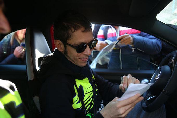 Monza Rally Show 2017 | Le parole di Valentino Rossi al termine della prima tappa