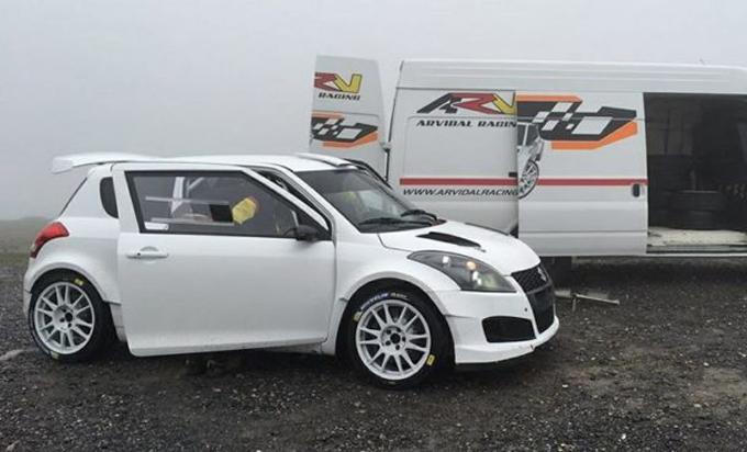 Rallye de Tierra de Astorga – Lukyanuk al via con una Suzuki Swift N5