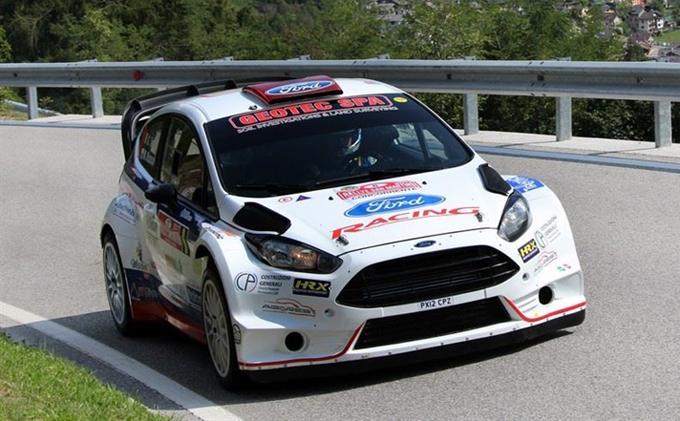 Motor Show di Bologna – Giuseppe Testa con la Ford Fiesta nel Trofeo Italia R5