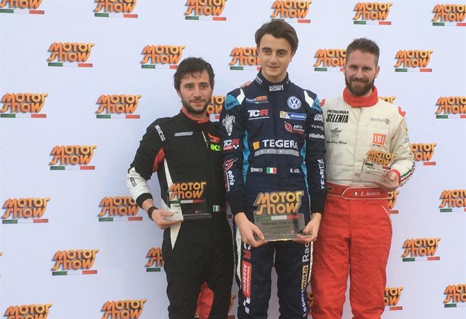 Motor Show di Bologna – Giacomo Altoè primeggia nel Trofeo TCR Italy