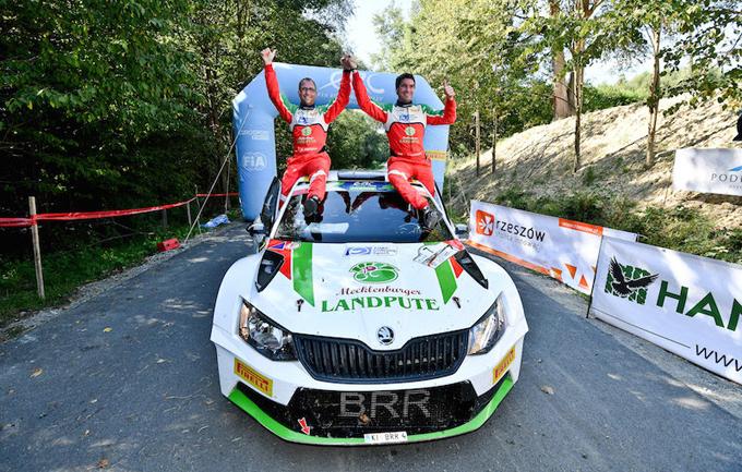 FIA ERC – Riconoscimento speciale di Skoda Motorsport per Marijan Griebel