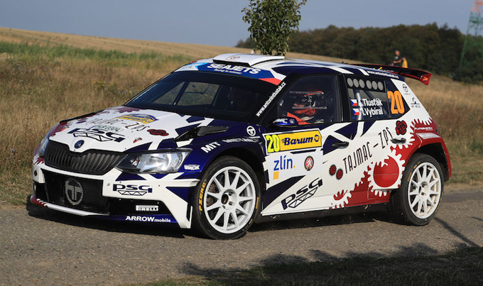 Antonín Tlusťák vince il Traiva Rallycup Kopřivnice VIII