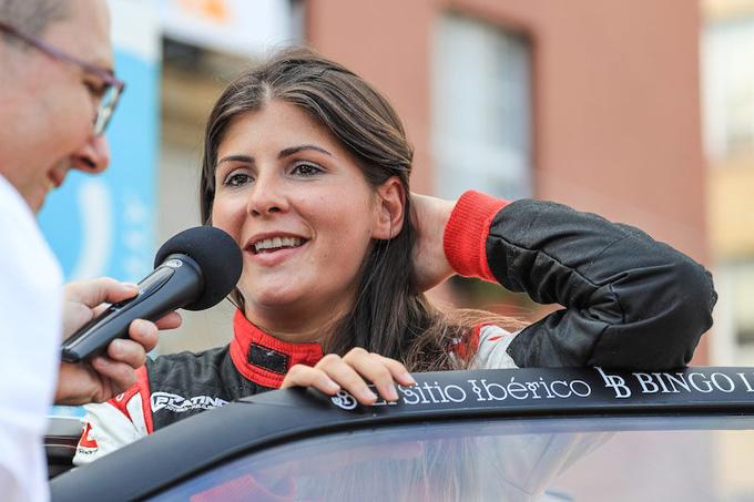 FIA ERC – Emma Falcon al via con Edu Gonzalez