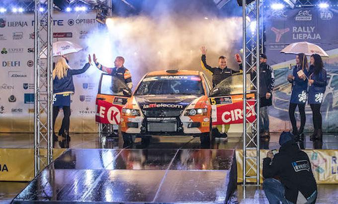 FIA ERC – Raimonds Strokšs entusiasta che Rally Liepāja chiuda la stagione