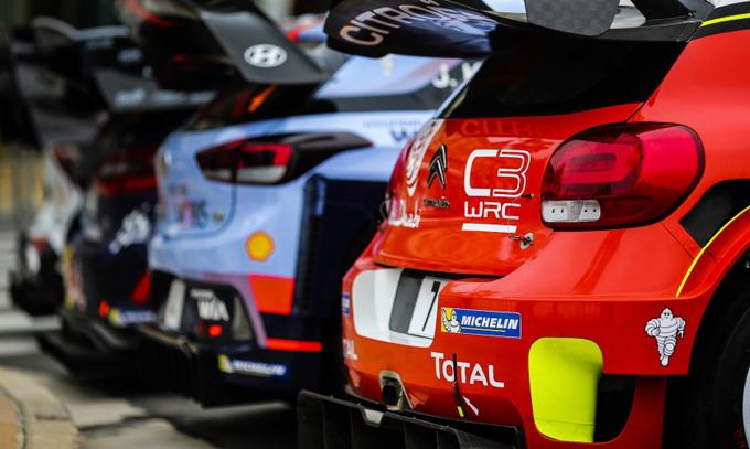 WRC – La stagione 2018 sarà presentata agli Autosport International