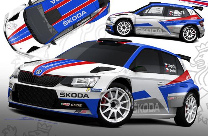 WRC2 – Skoda schiererà 3 Fabia R5 al Rally di Monte Carlo