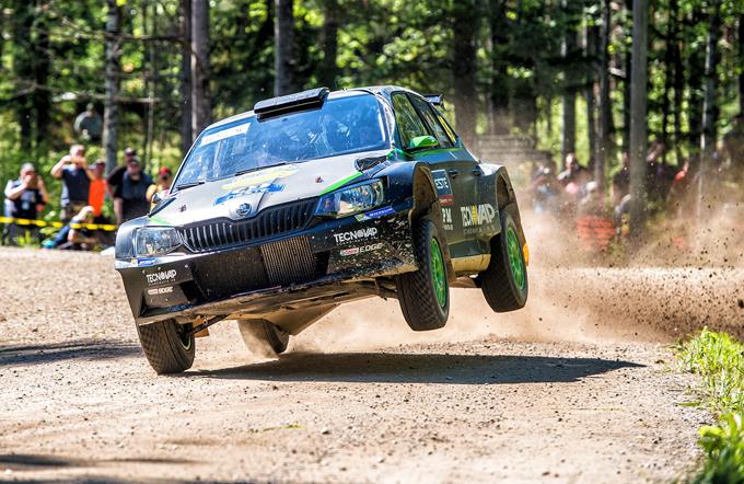 WRC2 – Umberto Scandola al Rally di Svezia con S.A. Motorsport Italia