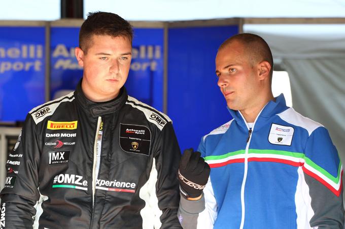 GT Italiano – Perolini conferma la sua presenza con Antonelli Motorsport
