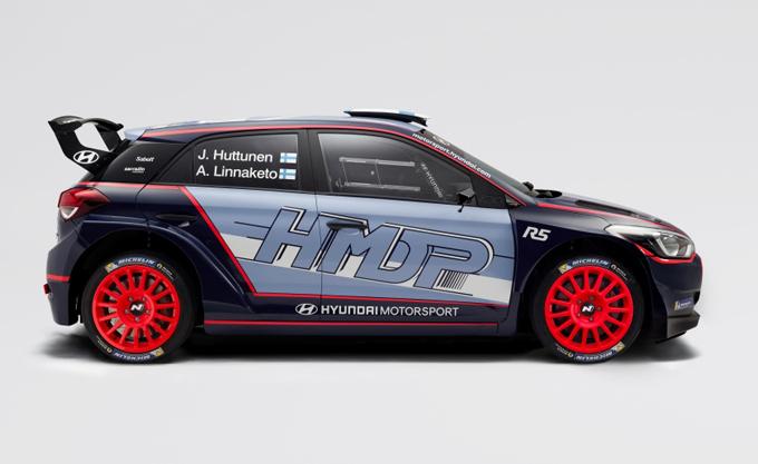 WRC2 – Hyundai: ecco la nuova livrea della i20 R5 di Huttunen