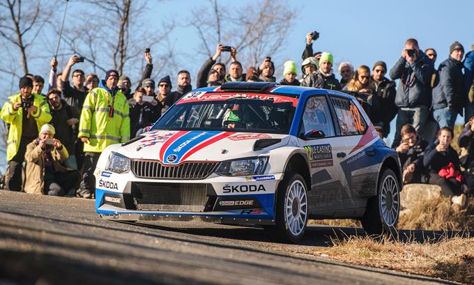 WRC2 – Skoda e Kopecky vincono il Rally di Monte Carlo