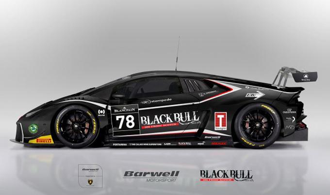 Blancpain GT – Michele Beretta con Barwell Motorsport