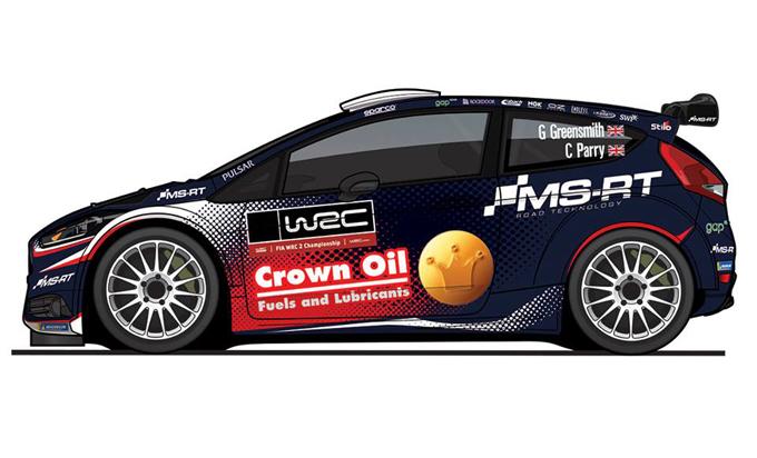 WRC2 – Greensmith correrà 8 rally con la Ford Fiesta R5 Evo2
