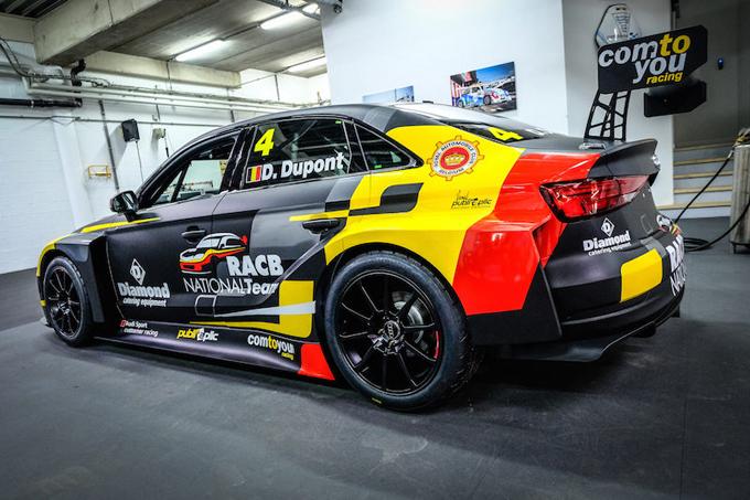 WTCR – Dupont con l'Audi della RACB-Comtoyou