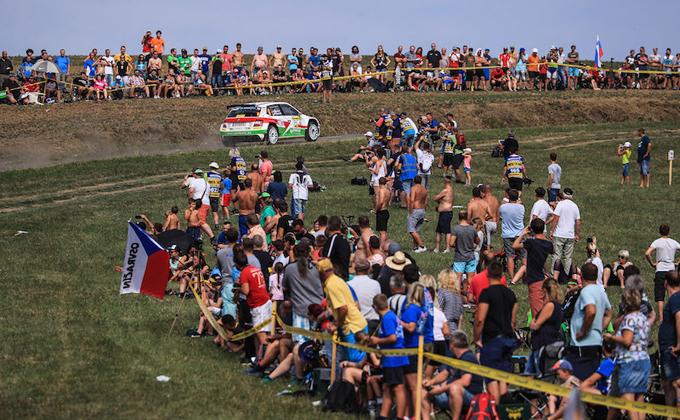 FIA ERC – Il Barum Czech Rally Zlín in corsa per un premio