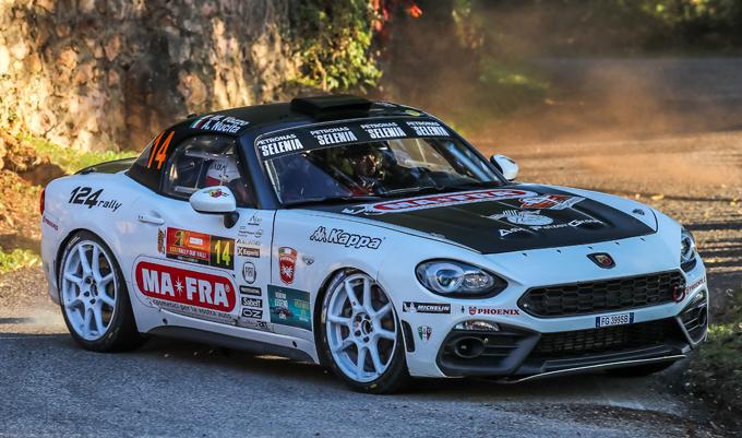 Rally di Monte Carlo – Andrea Nucita al via con una Abarth 124 rally