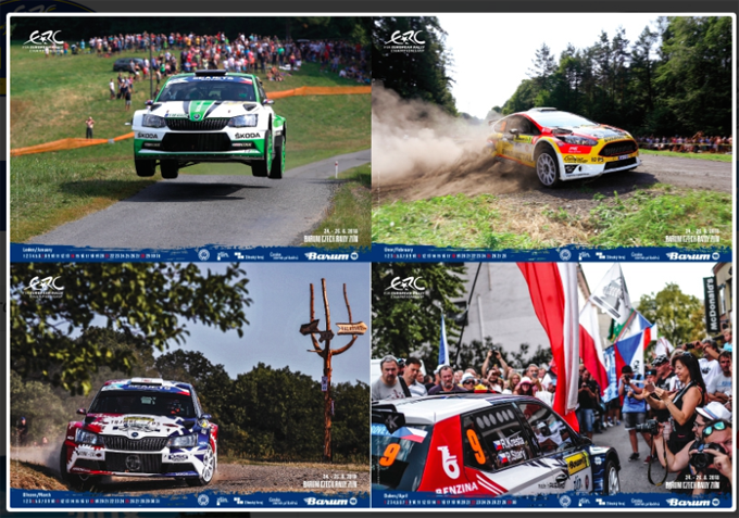 FIA ERC – Il calendario del Barum Czech Rally Zlín è in vendita