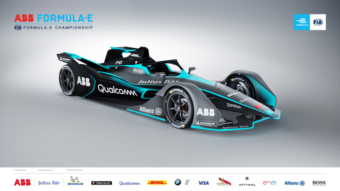 Formula E: Presentata la seconda generazione di vetture che debutterà nella quinta stagione