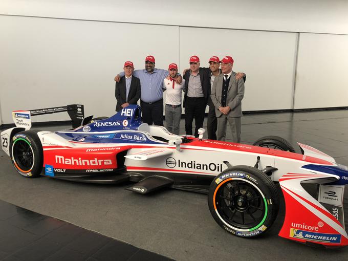 Formula E: Pininfarina e Tech Mahindra diventano partner di Mahindra Racing