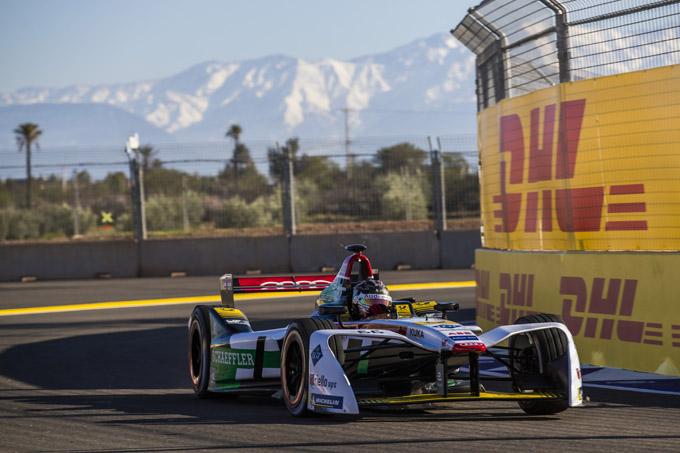 Formula E – Marrakech: Abt comanda le prove libere nella doppietta Audi, bene le Jaguar