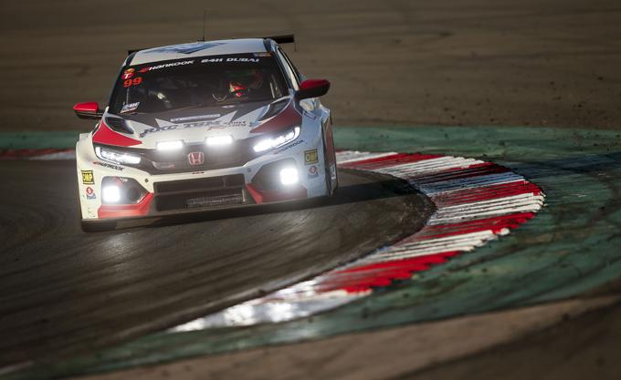 24 Ore di Dubai – Honda: debutto amaro per la nuova Civic Type R TCR