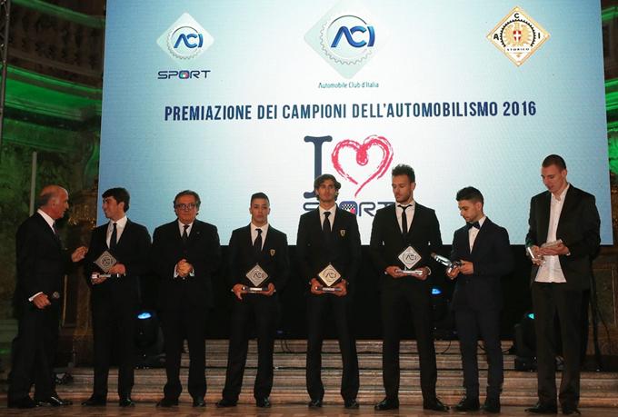 Campioni del Volante 2017 – La premiazione all'Autodromo di Monza il 19 gennaio