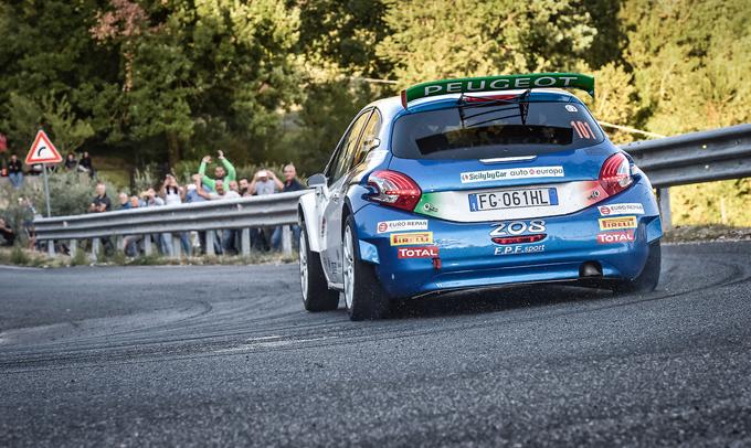 Stefano Strabello nel CIR Junior e nel Trofeo Peugeot Competition 2018 TOP