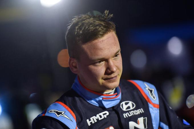 WRC2 – Prima esperienza di Huttunen sulla i20 R5 in Svezia