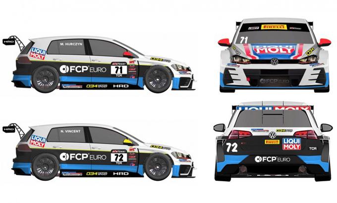 TCR – Tre Volkswagen Golf GTI per HRD nel Pirelli World Challenge