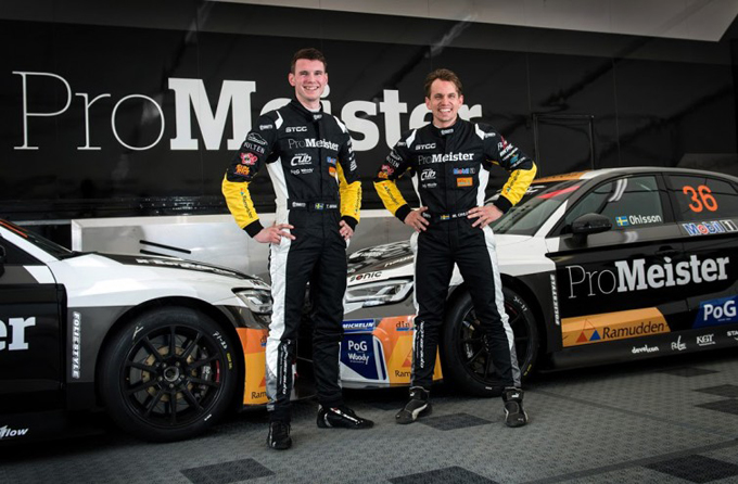 TCR Scandinavia – Due Audi RS 3 LMS per il Brink Motorsport