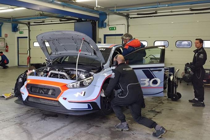 WTCR – BRC a Vallelunga con la Hyundai