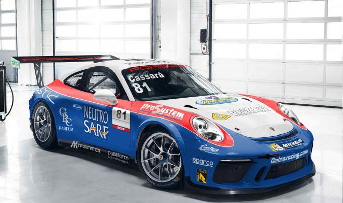 Porsche Carrera Cup Italia – Ombra Racing approda nel monomarca
