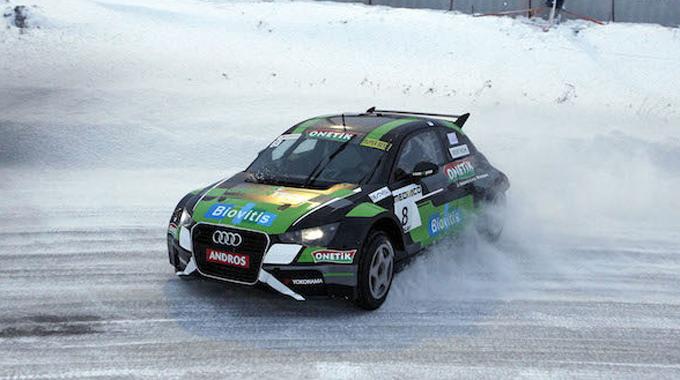 Aurélien Panis e Comtoyou Racing si esibiscono sul ghiaccio