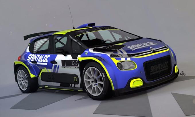 FIA ERC – Saintéloc Racing schiererà la nuova Citroën C3 R5