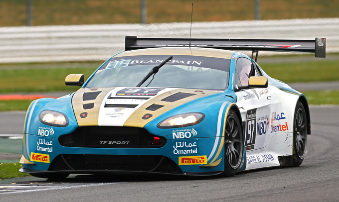 Blancpain GT – Oman Racing Team e TF Sport di nuovo nell'Endurance Cup