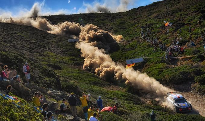 WRC – Svelato il percorso del Rally Italia Sardegna 2018
