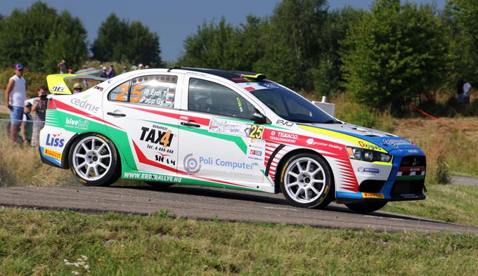FIA ERC – Papp di nuovo al fianco di Érdi Jr nell'ERC2