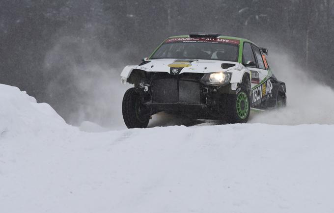 WRC2 – Rally di Svezia in salita per Scandola