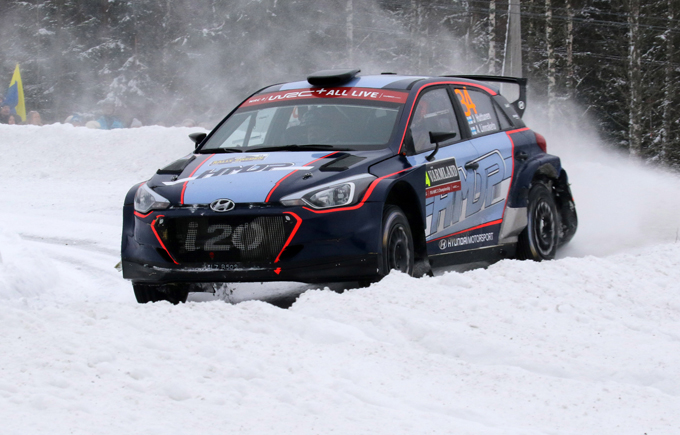 WRC2 – Rally di Svezia, Hyundai: Huttunen sesto all'esordio sulla i20 R5