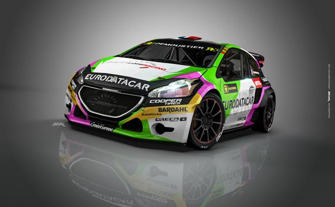 FIA WRX – Sebastièn Loeb Racing al via con una Peugeot 208