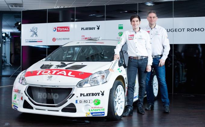 FIA ERC – Marijan Griebel correrà con Peugeot Germania