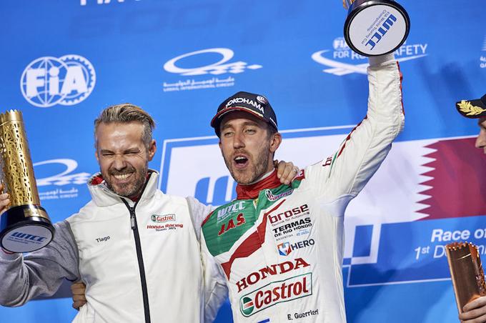 WTCR – Honda al via con Guerrieri e Monteiro
