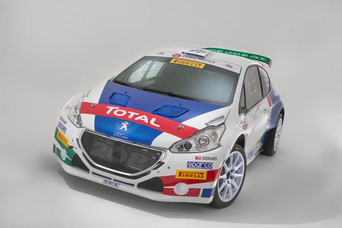 Peugeot Sport Italia presenta gli equipaggi e le livree per il Campionato Italiano Rally 2018