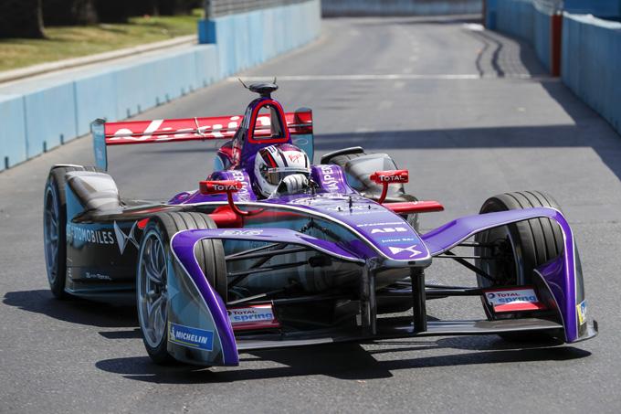 Formula E: Ds Virgin parte forte nelle prove libere. Penalità in griglia per Di Grassi